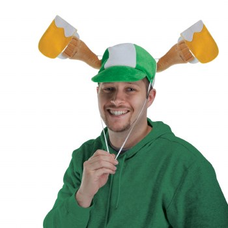 Hat StPaddysArmsW/BeerMug