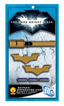 Batman Batarangs & Flashlight