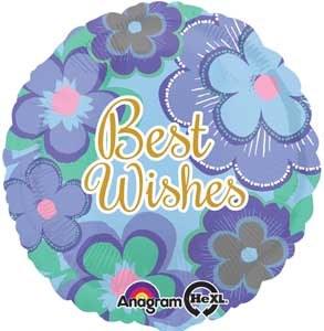 MYL 18'' Best Wishes Blue