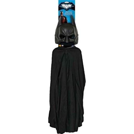 Batman Adult Cape & Mask