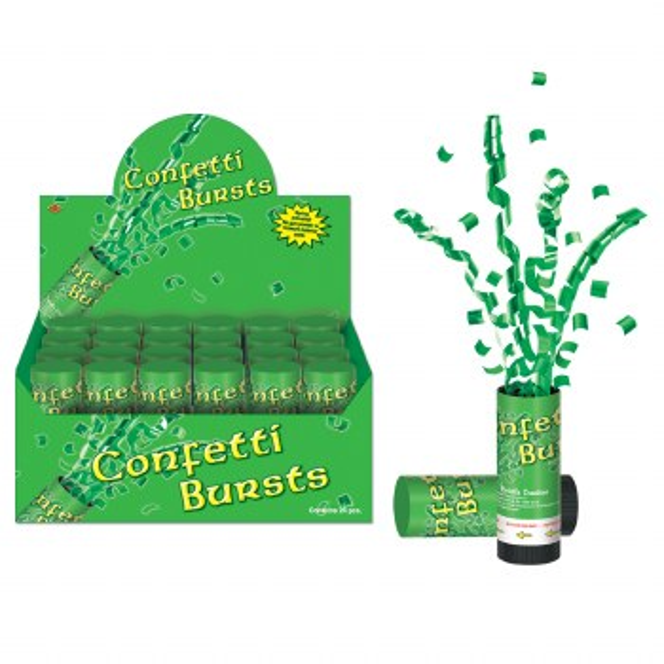Confetti Busts Green