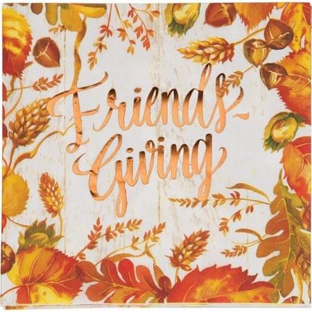 Fall Friendsgiving Lun Nap