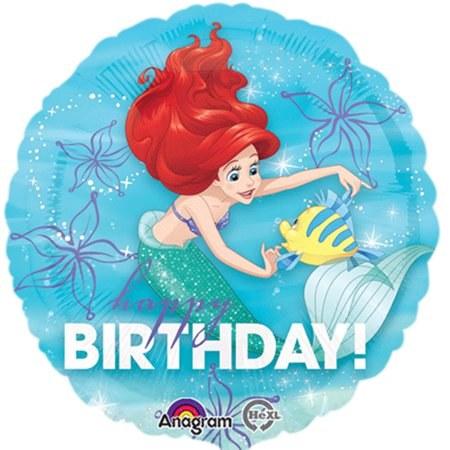 Blln 18in Foil Little Mermaid