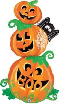 5' Special Delivery Pumpkin