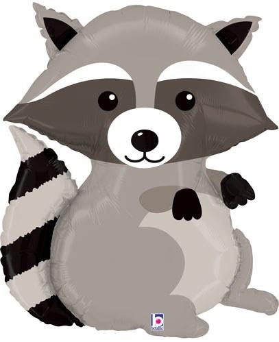 "Mylr 36"" Raccoon Shape"