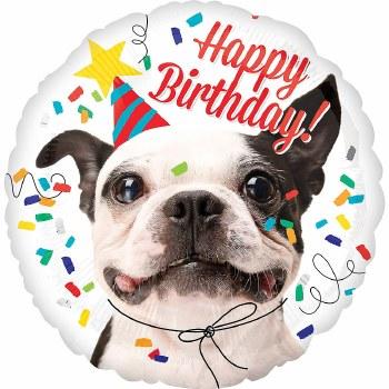 """Happy Birthday Dog ~ 18"""""""
