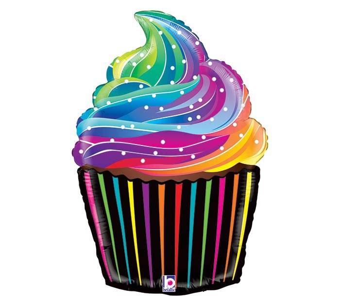 MYL 27'' Rainbow Cupcake