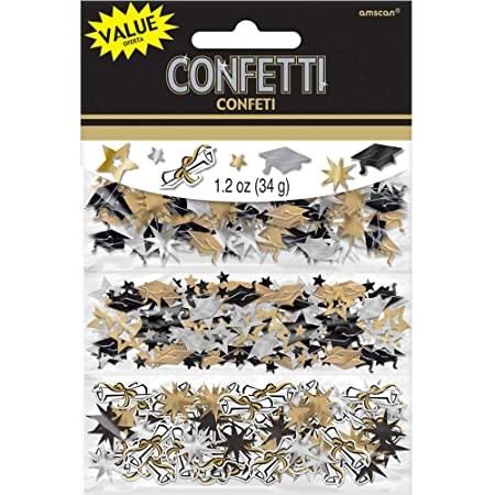 Confetti Grad Gld/Blk/Slvr