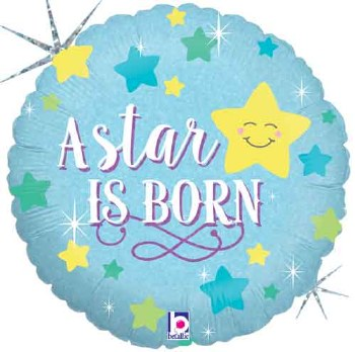 "Mylr 18"" Star Is Born Blue"