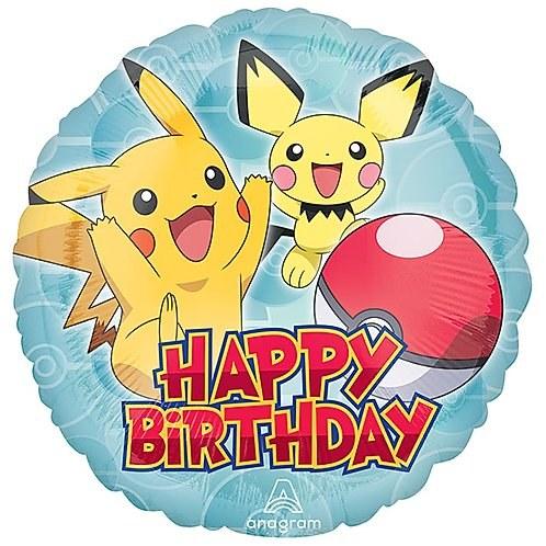 """18"""" Pokemon ~ Happy Birthday"""