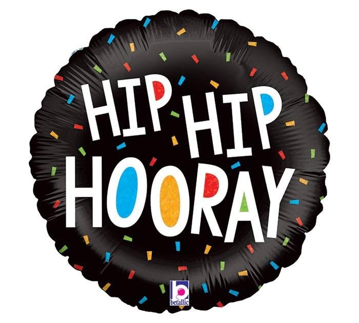 MYL 18'' Hip Hip Hooray