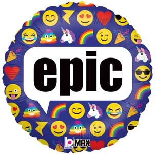 Emoji ~ 18in EPIC