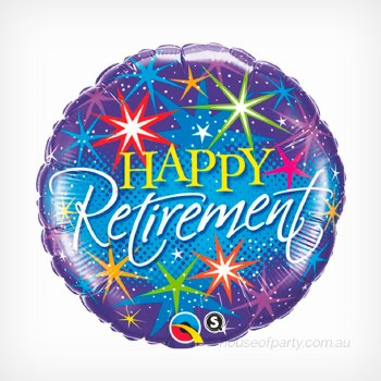 Blln Foil Retirement Colorful