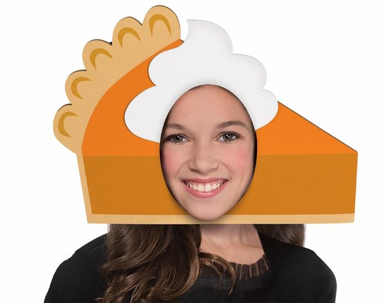 Hat Foam Slice of Pie