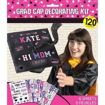 Grad Cap Decor Kit