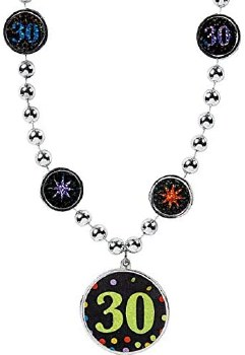 30th Birthday Necklace