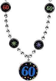 60th Birthday Necklace