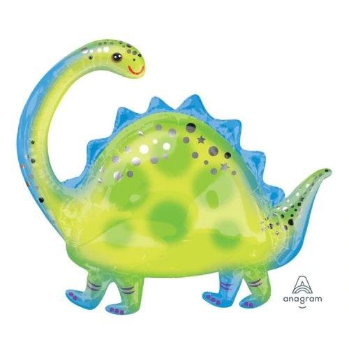Mylar 32in Brontosaurus Shape