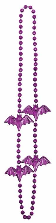 Bat Bead Necklace 6pk