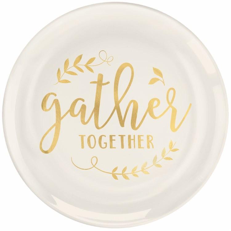 Gather Tgthr Prem Pl 10in Plt