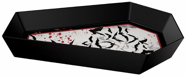 "Bowl Coffin Shaped 12""x8"""