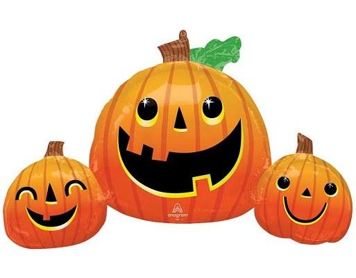 "MYLR OS Pumpkin Trio 35"""