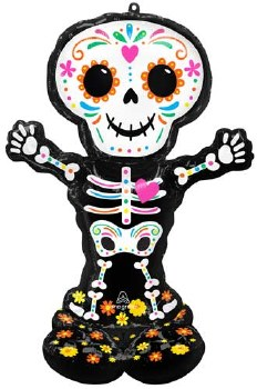 """Airloonz Day of The Dead 52"""""""