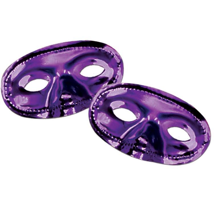 Eyemask Plastic Purple Asst