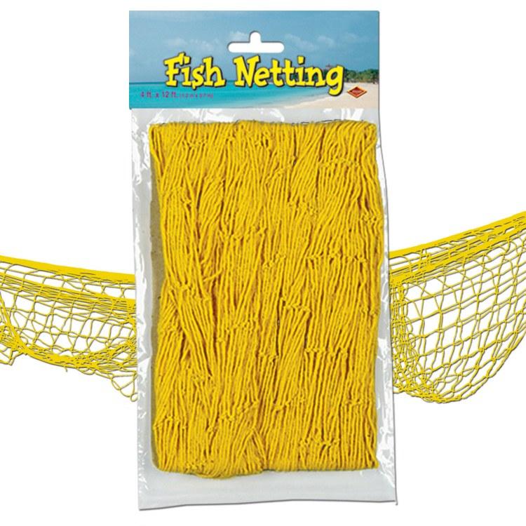 Fish Netting Yellow