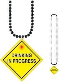 Beads Flashing Drinking in Progress