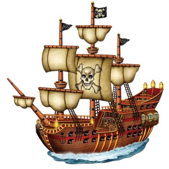Pirate Ship Jointed