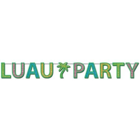Streamer Luau Party Glitter