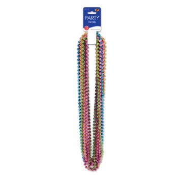 Beads Party Sm Round Bright