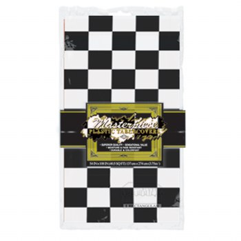 Tablecover Checkered B/W
