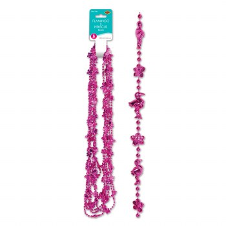 Beads Hibiscus & Flamingos