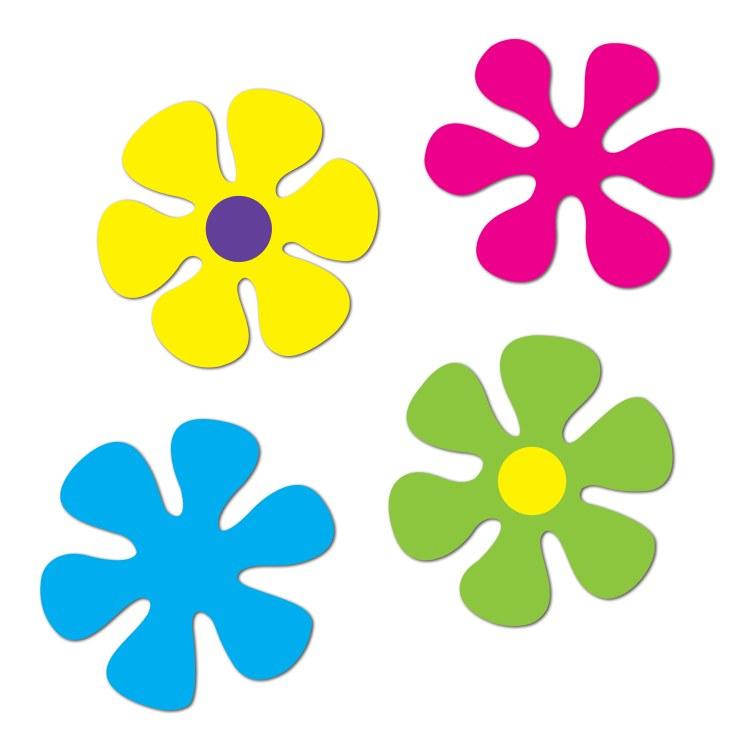 Flower Retro Cutouts