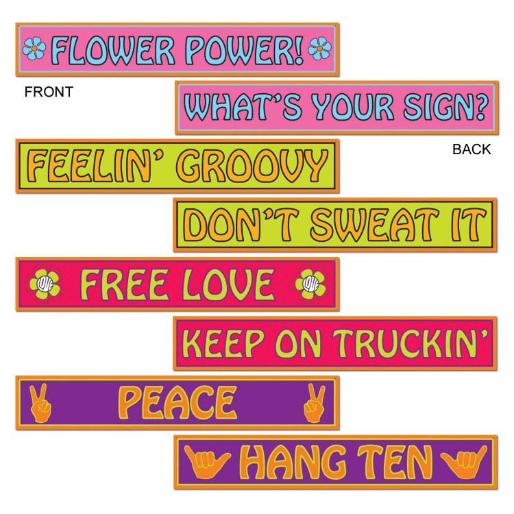 Cutouts 60's Signs