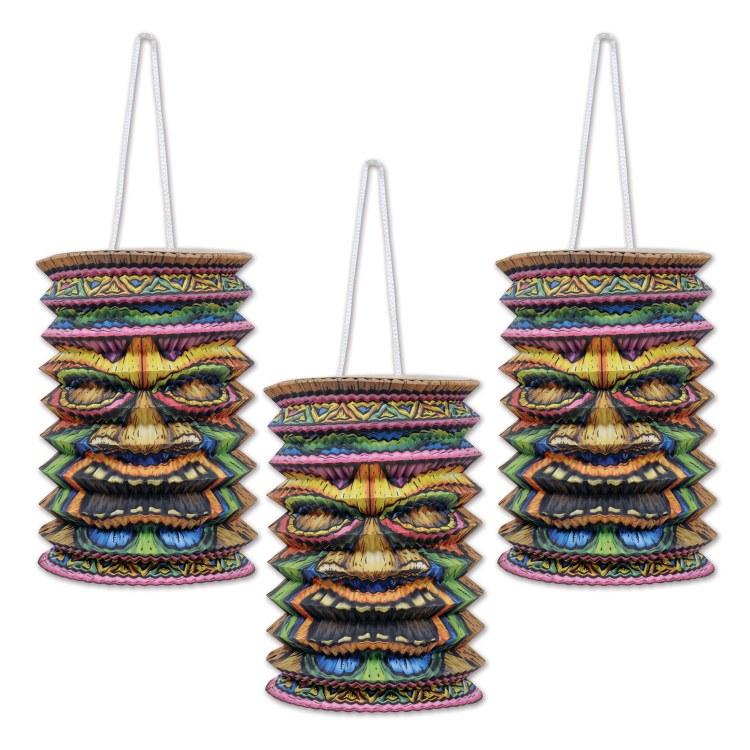 Lanterns Tiki 3pk