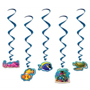 Under The Sea Whirls 5pk