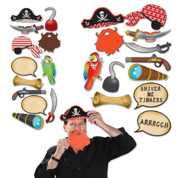 Photo Prop Signs Pirate