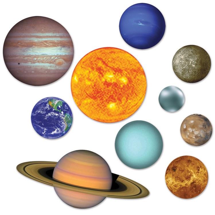 Solar System Cutouts 10pk