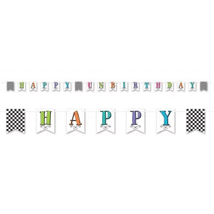 Banner H Un-Birthday Pennant