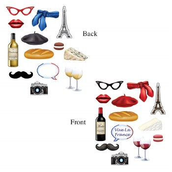 French Photo Signs