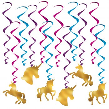 Unicorn Whirls 12pc