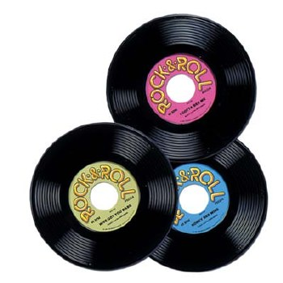 Records Plastic 3 Pack