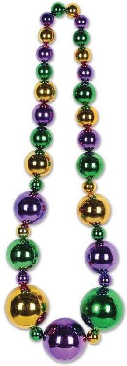 Beads Mardi Gras King Size