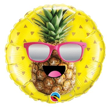 Mylar Cool Pineapple