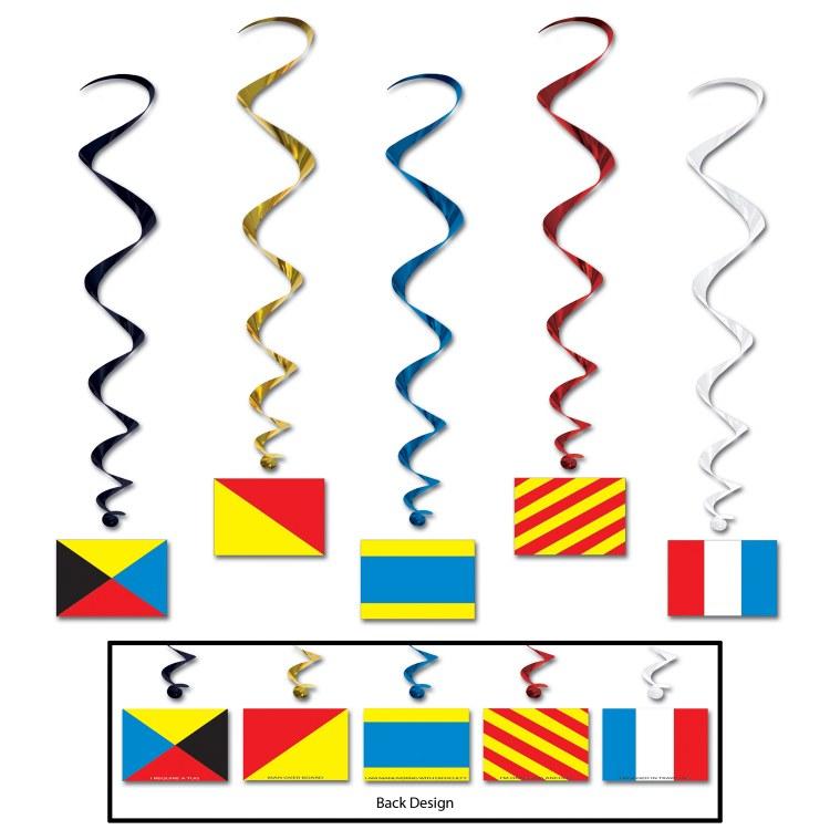 Whirls Nauticle Flags