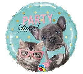 "Mylr 18"" PartyTime Kitty/Puppy"