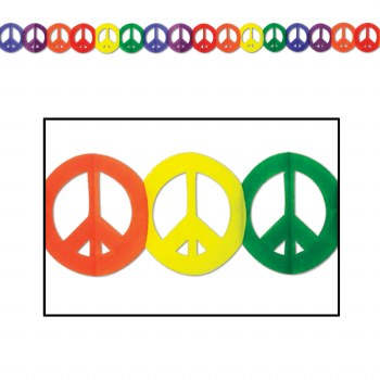 Garland Peace Sign